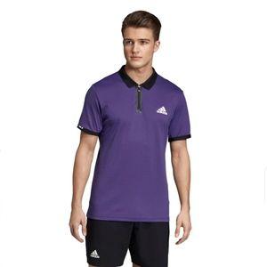 🎁 ADIDAS Escouade Tennis Polo Legend Purple